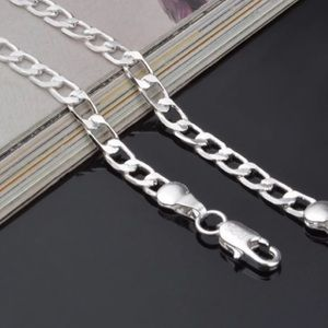 Silver plated Link Chain Necklace